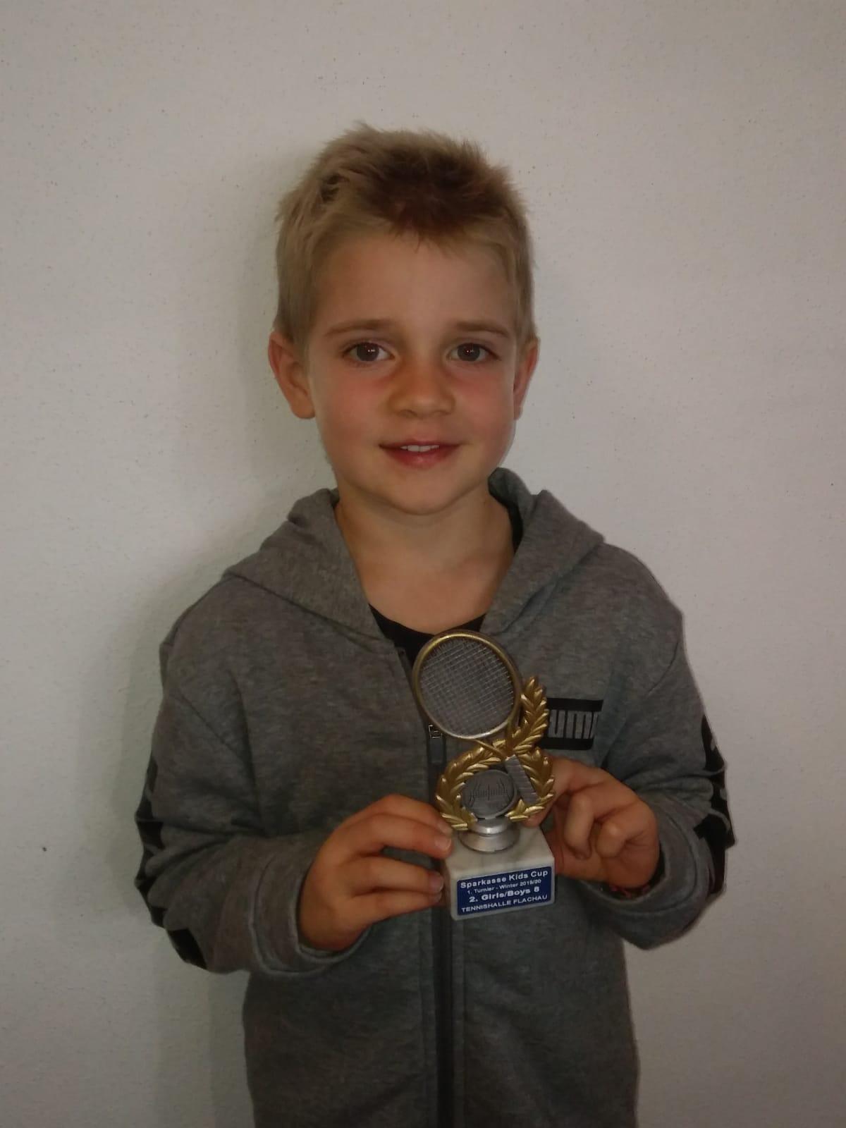 1.Sparkassen Kids Cup für Felix!!!!